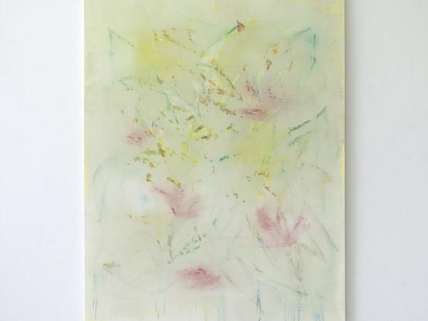 Luca Grechi, Non ti nascondere, 2019, mix media on convas, 190 x 150 cm.