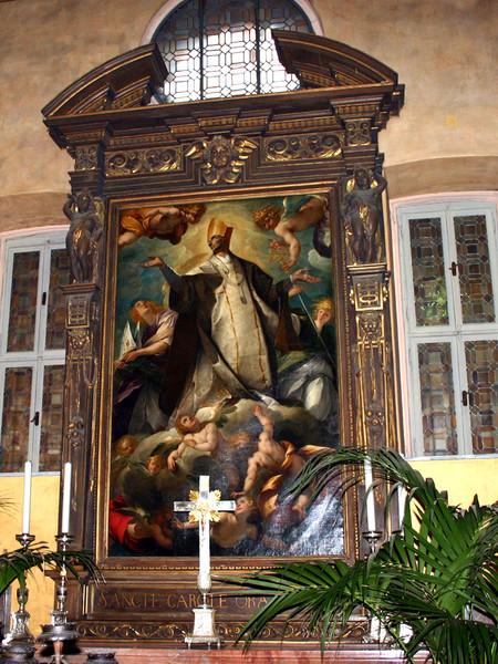 San Carlo Borromeo in gloria