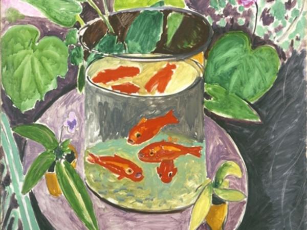 Henri Matisse, I pesci rossi, 1911. Museo Statale di Belle Arti A. S. Puškin, Mosca
