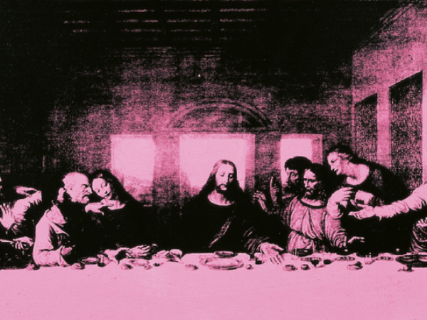 Andy Warhol,<em> The last supper</em> | Courtesy of Collezione Creval