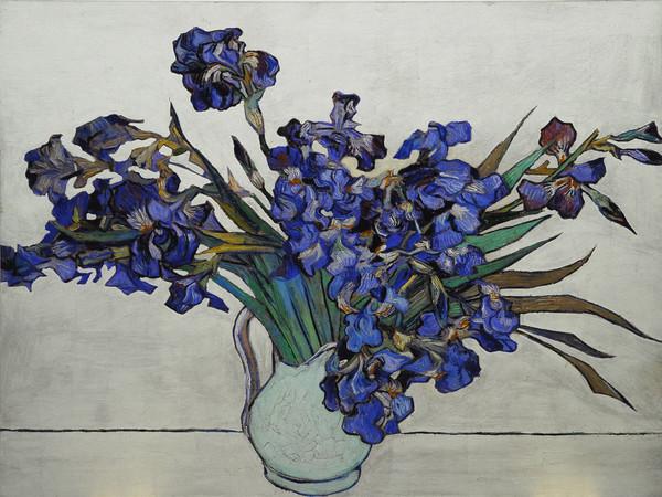 tefano Arienti, Iris (da Van Gogh)