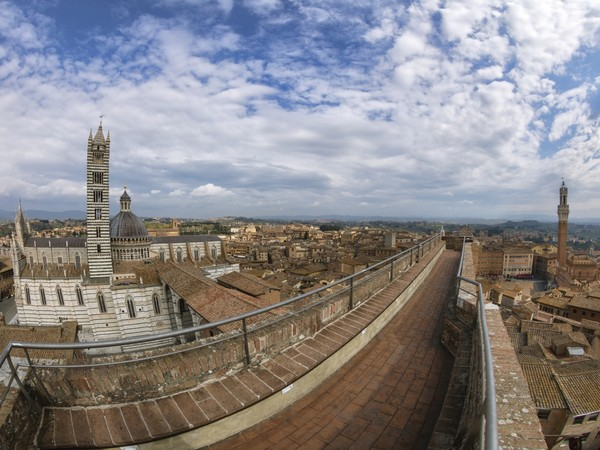 Vista su Siena dal Facciatone del Duomo Nuovo