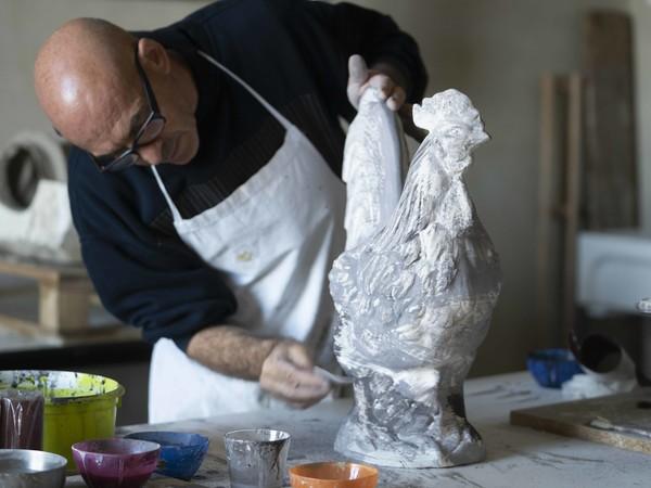 Antonio Marras, Museo della Ceramica, Mondovì