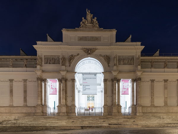 Quadriennale d'arte 2020 - FUORI, Palazzo delle Esposizioni, Roma