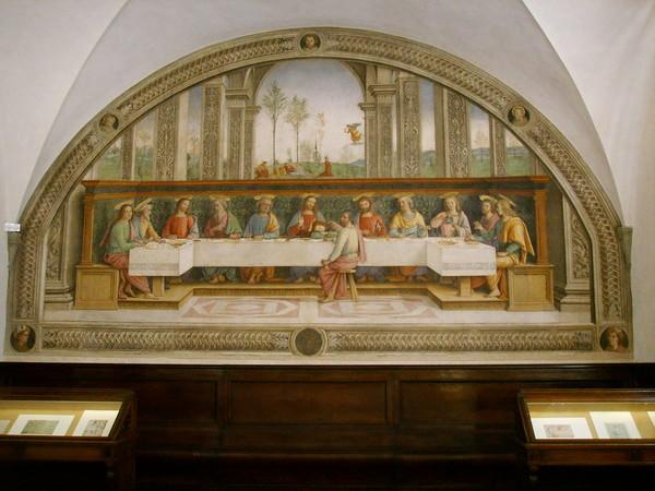 Pietro Perugino, Cenacolo del Fuligno, Firenze