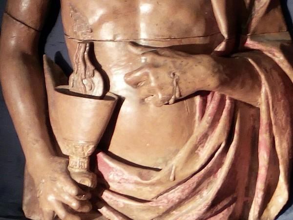 Presentazione del Cristo di Matteo Civitali a Villa Guinigi
