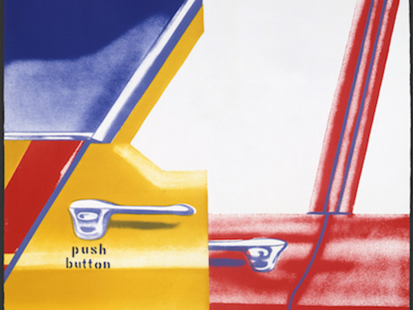James Rosenquist, Roll Down, 1966