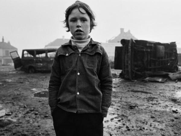 Gian Butturini, Ragazzo tra le macerie, Belfast 1971
