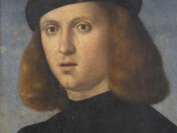 Francesco Bissolo, Ritratto di giovane con copricapo nero. Fondazione Brescia Musei