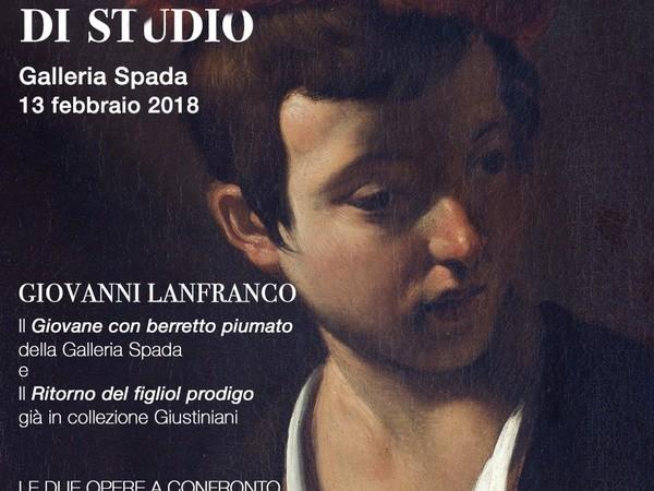 Ritrovare Lanfranco: due opere a confronto, Galleria Spada, Roma