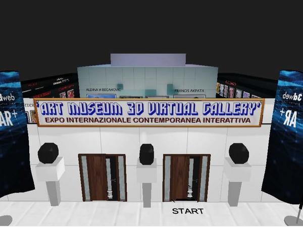 ART MUSEUM 3D VIRTUAL GALLERY