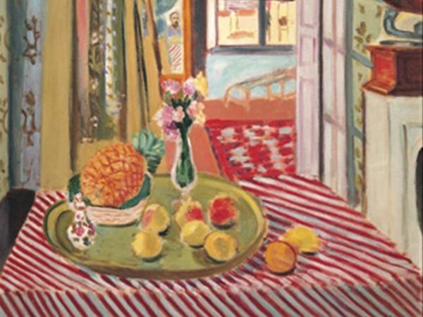 Henri Matisse, Interno con fonografo, 1934. Pinacoteca Giovanna e Marella Agnelli, Torino