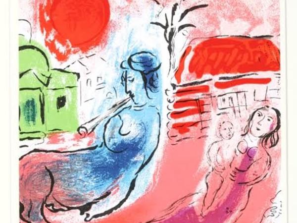 Marc Chagall, La maternità e il centauro, 1957