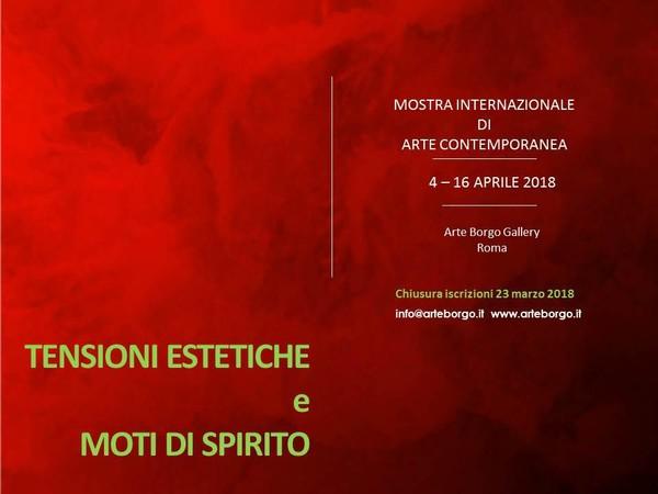 Tensioni estetiche e moti di spirito, Arte Borgo Gallery, Roma