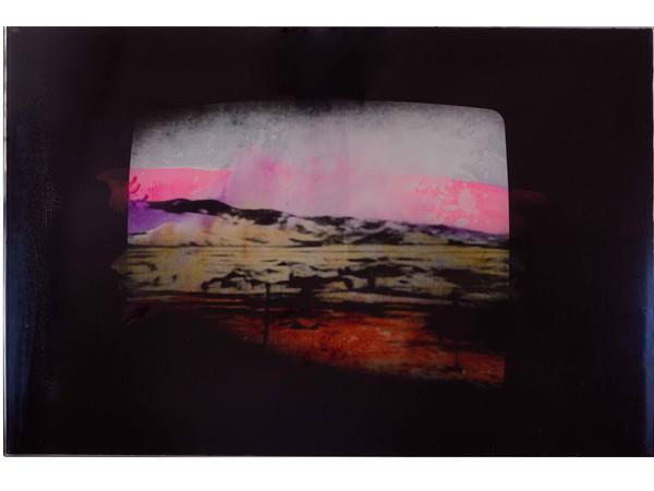 Mario Schifano, Senza titolo, 1973-78, tela emulsionata, cm. 81x121