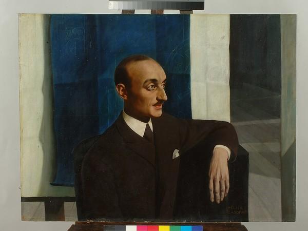 Felice Casorati, Ritratto dell'Ingegner Beria