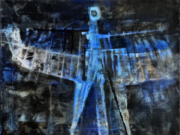 Luigi Pericle, <em>L'Arcangelo IV, Matri Dei d.d.d.</em>, 1965, Tecnica mista su tela, 55 x 34 cm | Courtesy of Archivio Luigi Pericle e Fondazione Querini Stampalia