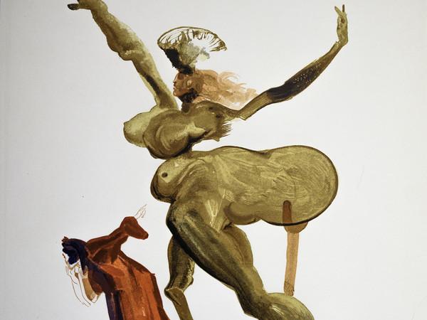 Salvador Dalí, Divina Commedia, Inferno, Canto 33
