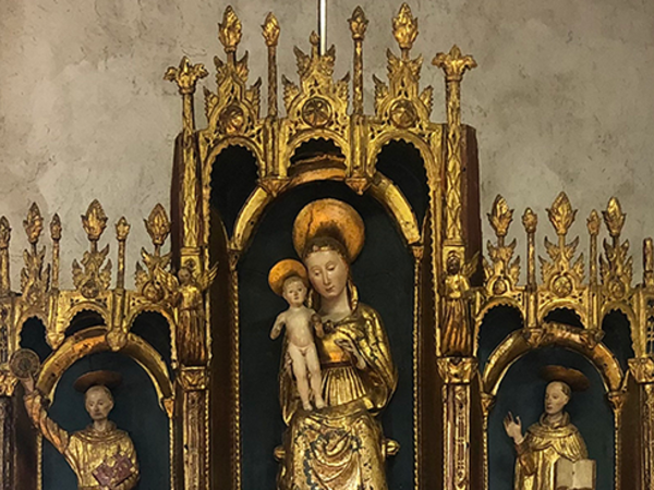 Andrea Mantegna, Polittico di San Luca, 1453-1454