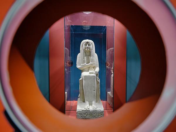 Nel laboratorio dello studioso, Museo Egizio di Torino