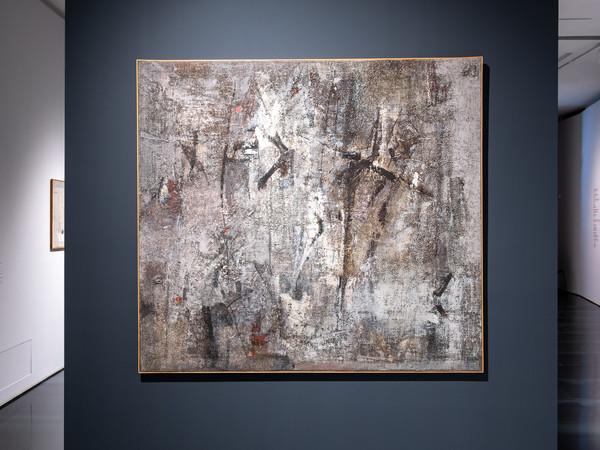 Bice Lazzari, Situazione drammatica, 1958, olio su tela. Archivio Bice Lazzari