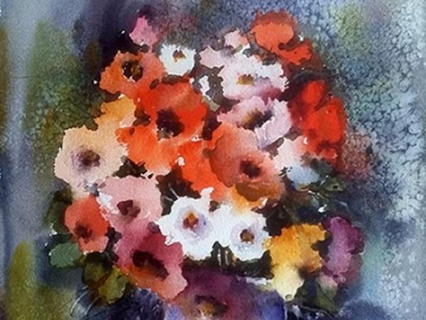 Luigi Zucchero, Composizione floreale, 50x35