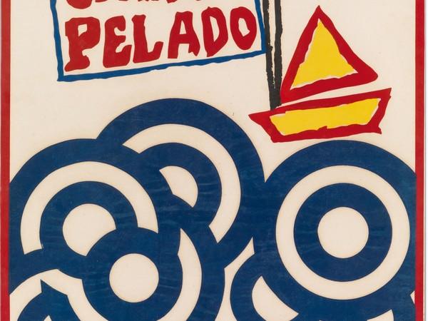 Raúl Oliva, Cerro Pelado, 1966, manifesto/poster - serigrafia/silk screen. Regia di/directed by Santiago Álvarez. Cuba, 1966. Coll. Bardellotto, Centro Studi Cartel Cubano