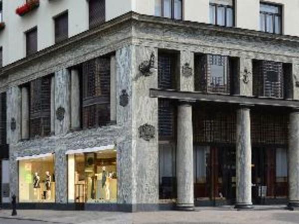 Adolf Loos, fronte Michaelerplatz