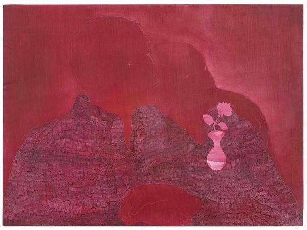 Andrea Hess, La Bohème, olio, acrilico su carta