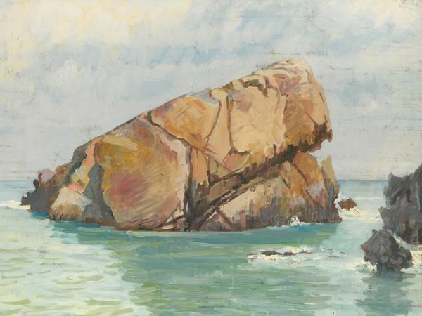 Paolo Cicero, Calura, 1926. Olio su tavola cm 41x 32,5