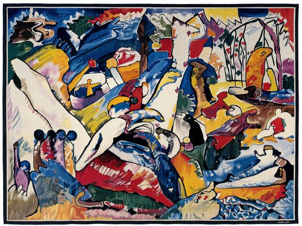 Arazzo di un'opera di Vassily Kandinsky