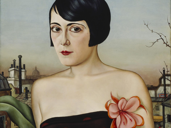 Christian Schad, Maika, 1929. Oil on wood, 65 x 53 cm. Private collection
