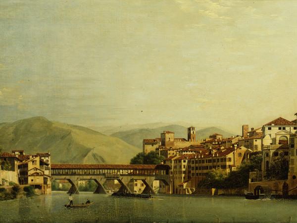 Roberto Roberti, Il Ponte di Bassano, 1807, Olio su tela, 845x530 mm. Museo Civico, Bassano del Grappa