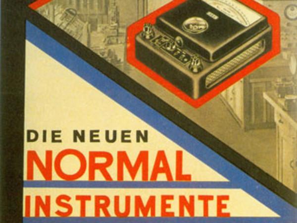 Cesar Domela, <em>ontwerp AEG Die Normal Instrumente</em>, 1928