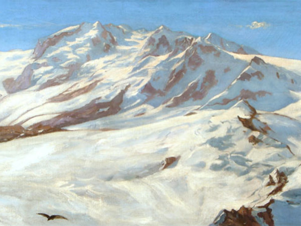 Giovanni Segantini e i pittori della montagna Mostra Museo Archeologico Regionale Aosta 2017
