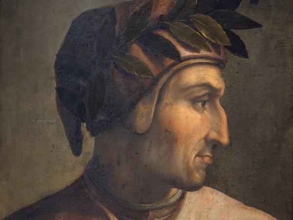 Cristofano dell'Altissimo (Firenze, 1525 - 1605), Ritratto di Dante Alighieri, 1552-1568, Olio su tavola, 60 x 44 cm, Firenze, Gallerie degli Uffizi, Collezione Gioviana