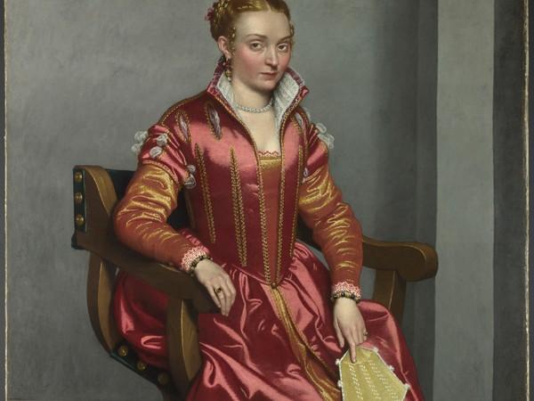 Giovan Battista Moroni, Portrait of a Lady ('La Dama in Rosso')