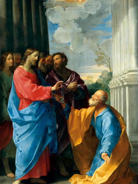 Guido Reni, Cristo consegna le chiavi a San Pietro, Pinacoteca San Domenico, Fano