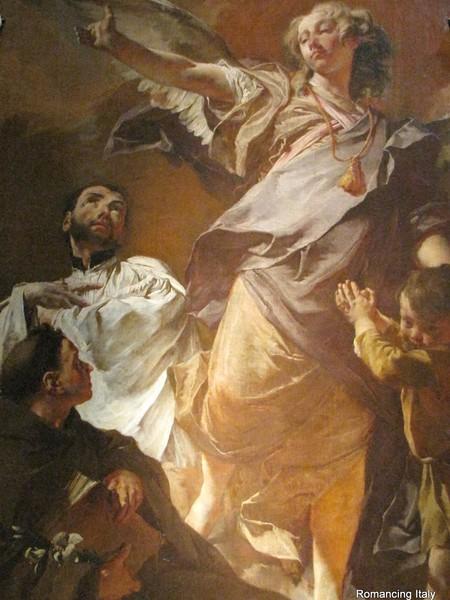 L'Arcangelo Raffaele e i Santi Antonio da Padova e Gaetano da Thiene
