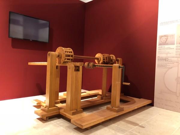 Leonardo Da Vinci. Anatomie: macchine uomo natura, Fortezza di Montepulciano