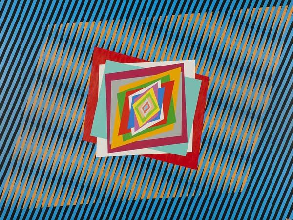 Ferruccio Gard, <em>Optical</em>, 2012, 150 x 115 x 3.5 cm<br />