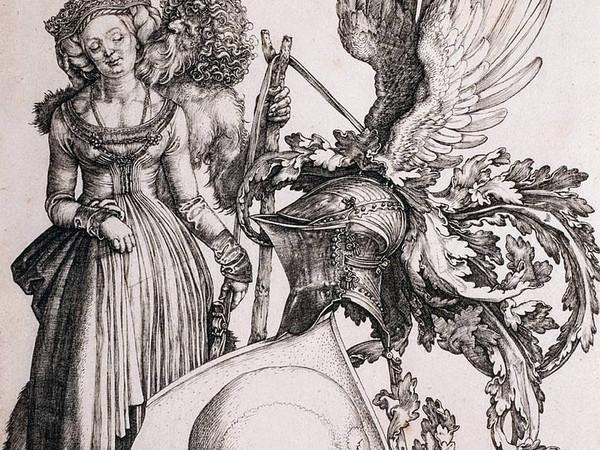 Albrecht Dürer, Le insegne della morte, 1503. Collezione privata Bergamo