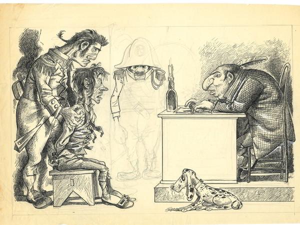 Disegno di Furio Scarpelli