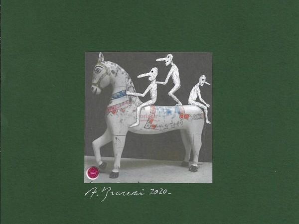 Andrea Branzi, Pinocchio a cavallo, 2020