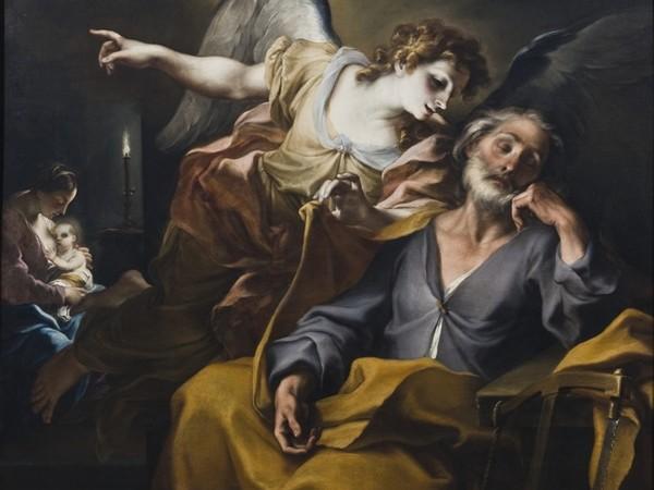 Legnanino, Sogno di Giuseppe, 1708, olio-su-tela, cm 148 x 165. Novara, Museo Civico