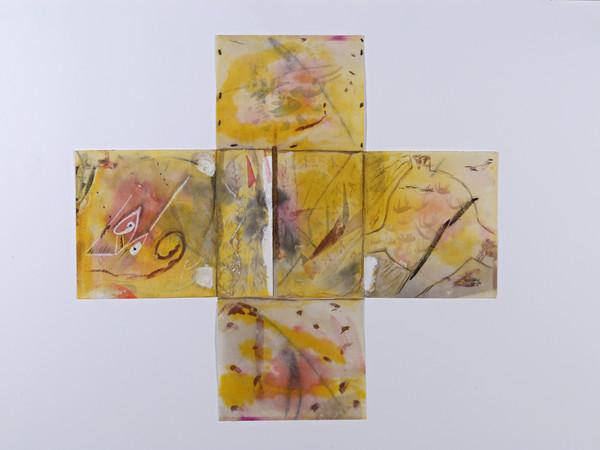 Mimmo Paladino, tecnica mista, mm. 440x400
