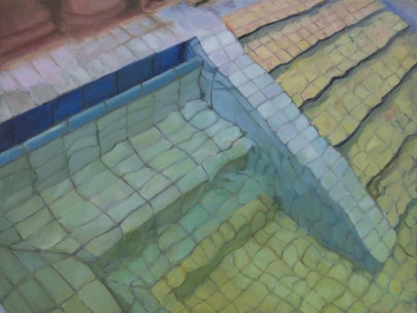 Adriana Varejão, <em>Budapeste III</em>, 2018 | Olio su tela, 50 x 40 cm | © Adriana Varejão / Victoria Miro, London/Venice<br />