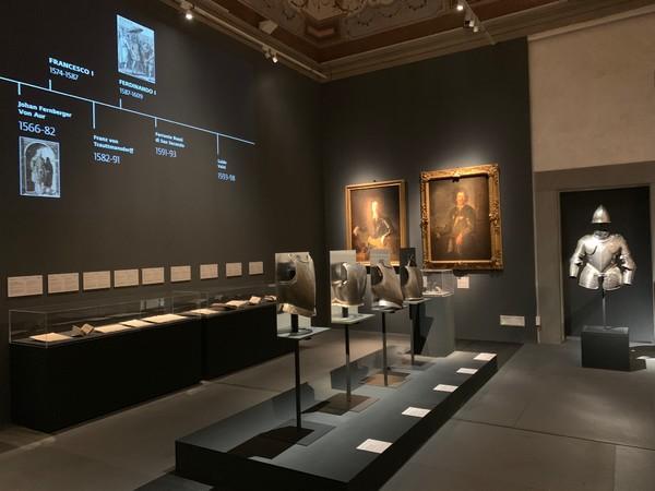 Omaggio a Cosimo I. Cento lanzi per il Principe, Gallerie degli Uffizi, Firenze