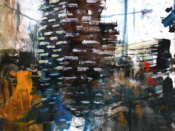Alessandro Busci, Bosco carta, inchiostri su carta, 33x22 cm, 2014