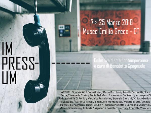 Impressum, Museo Emilio Greco, Catania